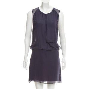 Acne silk purple dress size 4